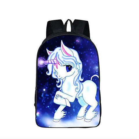 "Starry Unicorn  16.5"" Day Backpacks for kids Fantastic waterproof Unicorn Prints Boys/Girls Backpack kid, Luggage & Bags > Backpacks,Interior Design Genie ,"