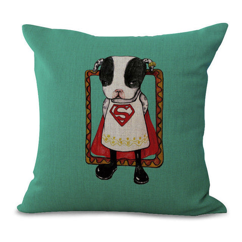 Lovely Animal Pillow Cases, cushions,Interior Design Genie ,