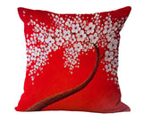 Oil Painting Tree Pillow Cases, cushions,Interior Design Genie ,