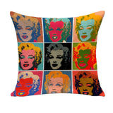 Pop Art Pillow Cases, cushions,Interior Design Genie ,