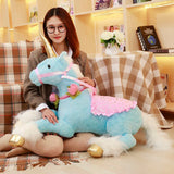 "Unicorn pink/white/blue Cute 36""/90cm plush toy stuffed animal plush horse cloth plush birthday gift - Interior Design Genie"