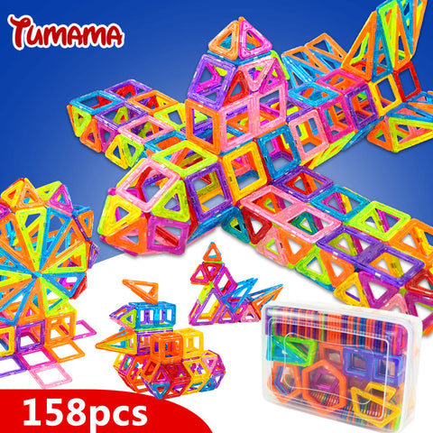 Magnetic Blocks Toys Construction Model Building Blocks Designer Kids Educational Toys For Children, Fun,Interior Design Genie ,