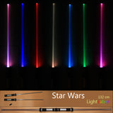 Galaxy Wars LED Lightstick Led Flashing Light Stick Toys Cosplay Weapons Can Mutual percussion Sabres for boys 2 pieces - Interior Design Genie