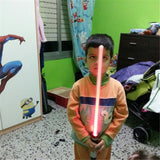 Galaxy Wars LED Lightstick Led Flashing Light Stick Toys Cosplay Weapons Can Mutual percussion Sabres for boys 2 pieces, Fun,Interior Design Genie ,