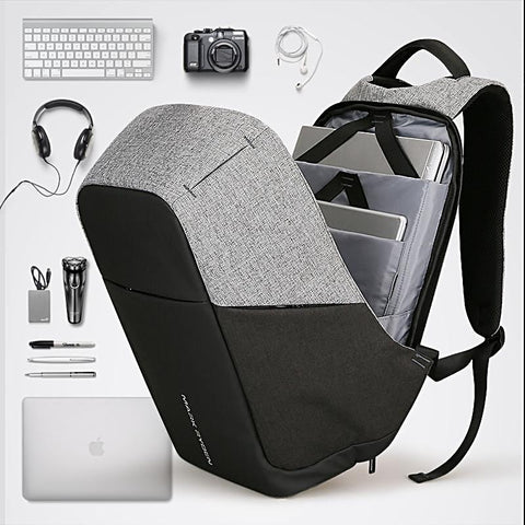 Anti-theft Laptop Backpack Commut Multifunction USB fashion 15inch Laptop BackpackTeen USA Warehouse - Interior Design Genie