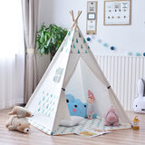 TeePee Large Unbleached Canvas Original Teepee Kids Teepee  Indian Play Tent House Children Tipi NO MAT, Baby & Toddler > Baby Toys & Activity Equipment > Sorting & Stacking Toys,Interior Design Genie ,