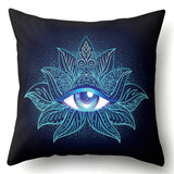Spiritual Third Eye Soft Cushion Cover Case 45*45cm Pillow Covers for Yoga and Dojo, Home & Garden Decor,Interior Design Genie ,