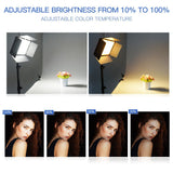 2 Spash TL-600S Studio Light LED Video Youtube Shoot 600 Beads 25W CRI90 Photo Lamp+200cm Tripod, Home & Garden > Lighting > Lamps,Interior Design Genie ,
