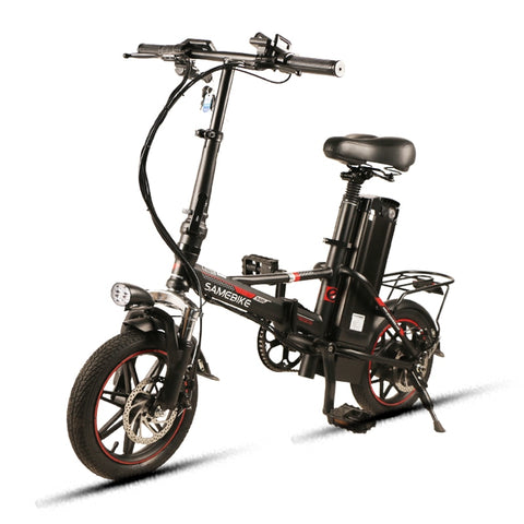 "Electric Bike 48V12.5Ah SAMEBIKE XMZ1214 Foldable 14"" Electronic Bicycle OffRoad Pedal Assist E-Bike, Bike,Interior Design Genie ,"