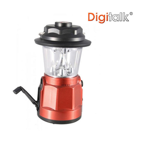 Light Camping emergency Torch Portable with Dynamo LED Lantern Radio with Built-In Compass