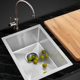 SINK 340X440MM Stainless Steel Kitchen Sink  Nano Under/Topmount Sinks Laundry Silver SH
