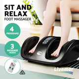 Massage Feet with remote cntrol, Foot Massage Foot Massager Black
