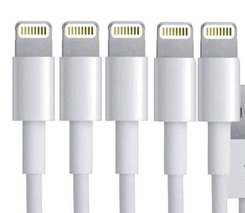 Cables Charge BULK OFFERS PACKS  White1.5M/1M/20cm  Apple iPhone X 8 7 6 iPad