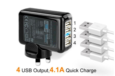 "Charger Fast at 4A with 4 Port           ""jolchargefa"""