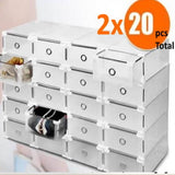 Shoe Storage Organize Store Protect See Stack - Jol Kalito