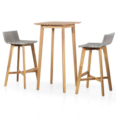 Table Set Bar Set Wooden Modern New jol3parmi
