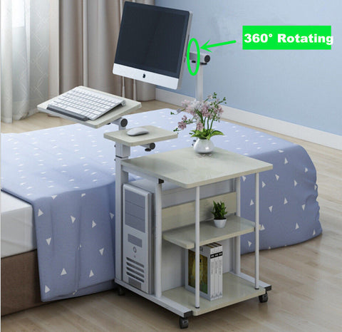 Portable Table  and Adjustable Laptop Desk Portable Desk