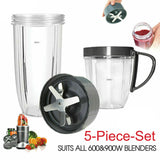 Blade Cross and five pieces total set for For NutriBullet 900W/600W