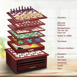 Wooden Case Many Games - jol9096