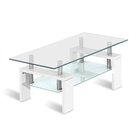Table Coffee Stand Metal And Glass jolarxouwhi