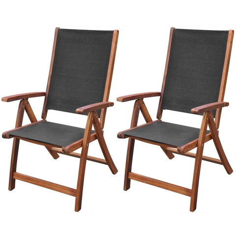 Chairs Set x2 Folding Popular