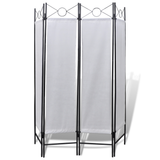Privacy Divide Screen Folding Four Panel Simple