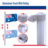 Pole Tall Aluminium Hanging Flags