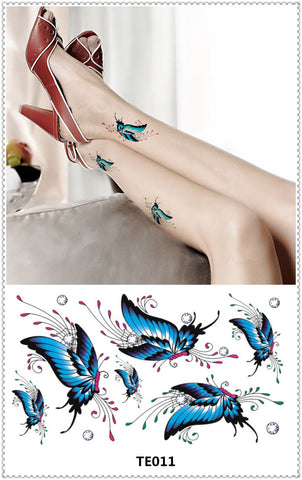 Sticker Tattoo Many designs jolkollati
