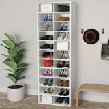 "Shoe Rack Storage Shelves Extra Tall Many Compartments ""jolksilipa"" -INQ-"