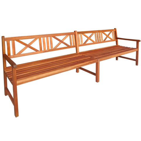 Bench Extra Long Wooden Comfy - jolmakritsi 00