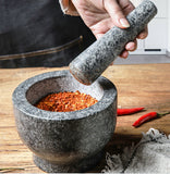 Kitchen tools Natural Material Heavy for Easy grind from GRANITE-