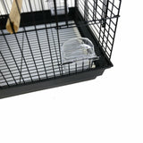 Cage Big White Practical Opening Top jolpartio