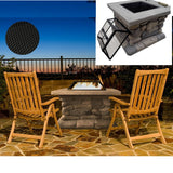 Decor Fire Heat Background Grill jolpetrit