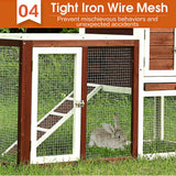 Pet Rabbit New design Easy Clean Safe with Plenty Space Hutch