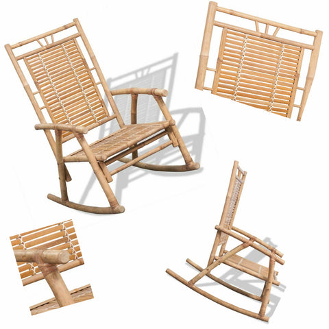 "Natural Materials  Nice Chair Classic and Tropical Bamboo "" jolrocha "" 150"