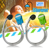 Camping shower Outdoors Practical Portable Rechargeable jolshowerit