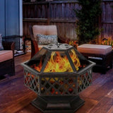 "Outdoor Steel Big Size Modern New Designs ""jolthefire"""