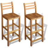 Stools Two Set Wooden Durable Popular jolxsilitto
