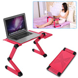 Portable Stand Adjustable Metal and ABS Portable Table