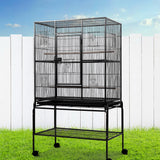 CAGE Bird Cage  Aviary 137CM Large with Stand Budgie Parrot Pet Cages