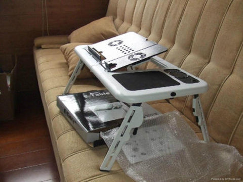Portable Stand Foldable Adjustable Fans Portable Lap Top Portable Table