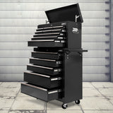 Storage box tool 14 Drawers Toolbox Chest Cabinet Mechanic Trolley Garage Tool Storage Box