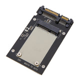 "mSATA to 7mm 2.5"" SATA Converter Enclosure Aluminium"