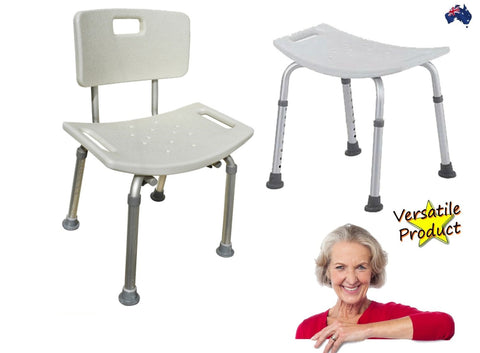 Stool Adjustable Durable Support Health And Aged Care
