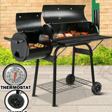 Grill Smoker on  wheels portable, nice extra practical design  BBQ  jakiwi