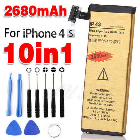 Battery And Opening Tools Set 4s Iphone