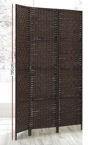 Privacy Divide Screen Cover Separate Areas BROWN