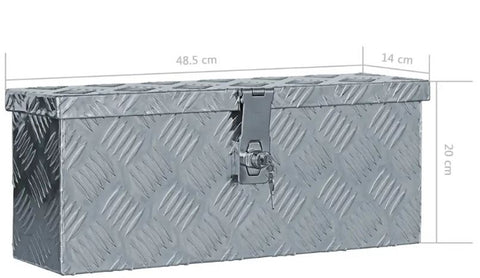 Storage Boxes Durable Aluminium Many sizes available jolalukio