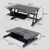 Stand Table Ergonomically Designed Sit Or Stand