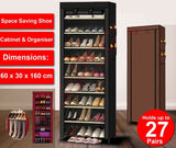 Shoe Storage Durable Plenty Space With Cover